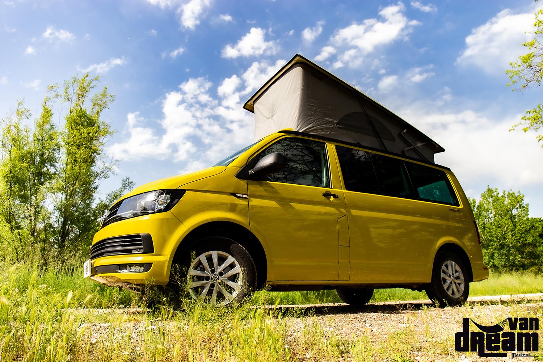 VW California Beach auf T5 als Pickup-Camper bei caraworld.de